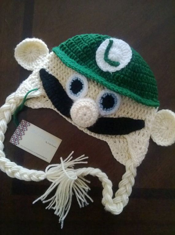 Free Crochet Pattern For Mario Hat : 1000+ ideas about Crochet Super Mario on Pinterest Mario ...