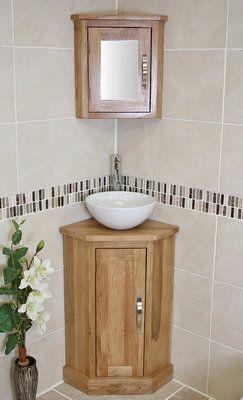 Corner Bathroom Cabinet .
