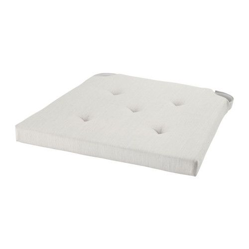 IKEA - JUSTINA, チェアパッド, , チェアパッドの中素材にはポリウレタンフォームを使用。耐久性に優れ、ソフトで快適な座り心地です洗濯機で丸洗いできます
