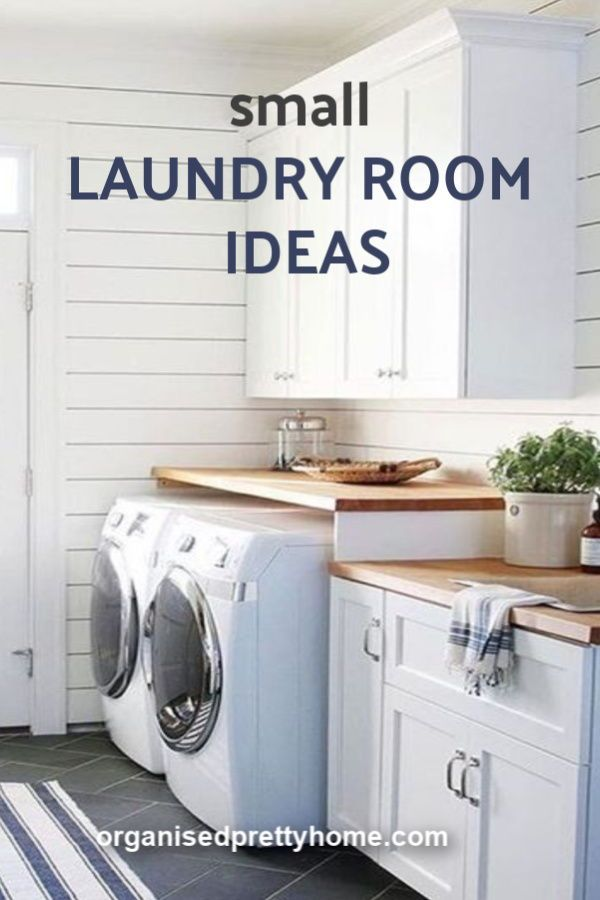 5 Brilliant Ideas For Designing A Laundry Room Organised Pretty