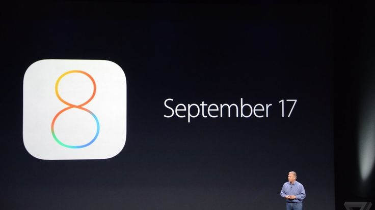 Apple's latest iOS 8 update will be available on September 17th for existing iPhones and iPads.