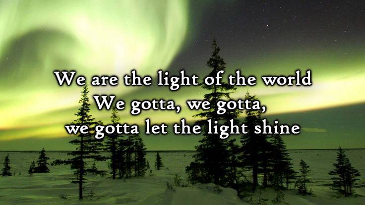 We Are -the LIGHT of the world! (w/ lyrics)  by Kari Jobe