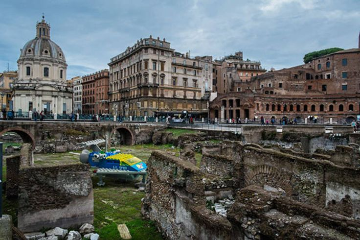 Pinterest The Worlds Catalog Of Ideas - Giant lego vehicles have been appearing on the streets of ancient rome