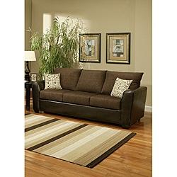 Porta Chenille Chocolate Brown Sofa