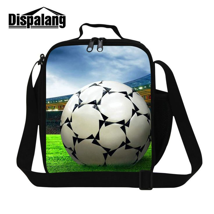 Dispalang cool ball design lunch bag for men insulated cooler bags for boys thermal waterproof lunch box container for teenagers