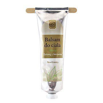 BALSAM DO CIAŁA ZIOŁOWY - Produkty Benedyktyńskie    Balsam do ciała ziołowy został wzbogacony o ekstrakt z borowiny. Balsam doskonale się wchłania, pozostawiając skórę gładką, nawilżoną i elastyczną. Ma piękny,...
