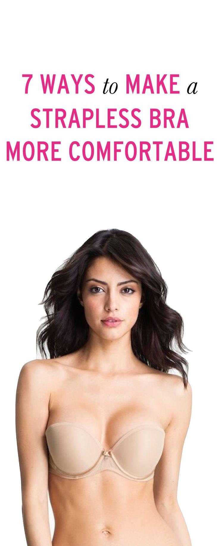 7 ways to make a strapless bra less annoying #ambassador