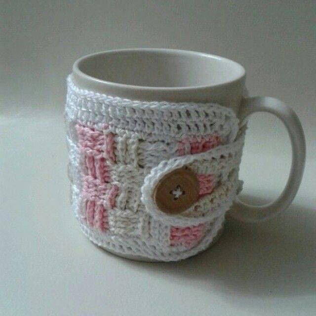 Mug warmer, cozy made by me