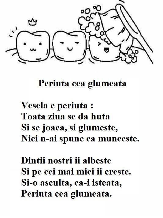 Poezie - Periuta cea glumeata