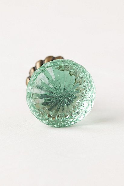 Simmered Glass Knob #anthropologie