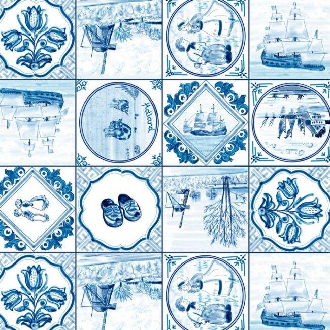 Kunstlessen Delfts Blauw