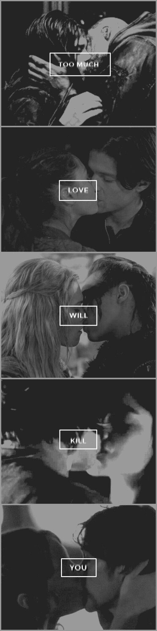 Too much love will kill you - Queen ⭐ || The 100 - Lexa - Clarke - Jasper - Maya - Lincoln - Octavia - Finn - Raven - Bellamy - Gina || Quality RIP :)
