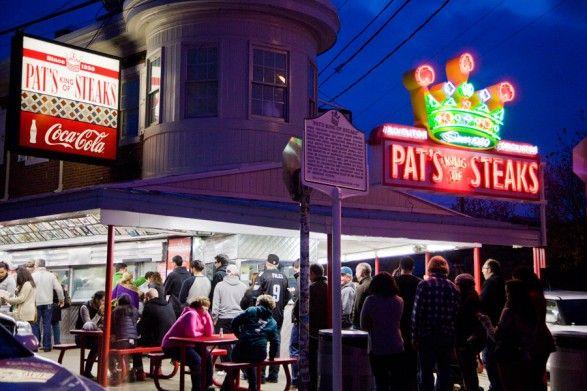 Pat's Cheesesteaks