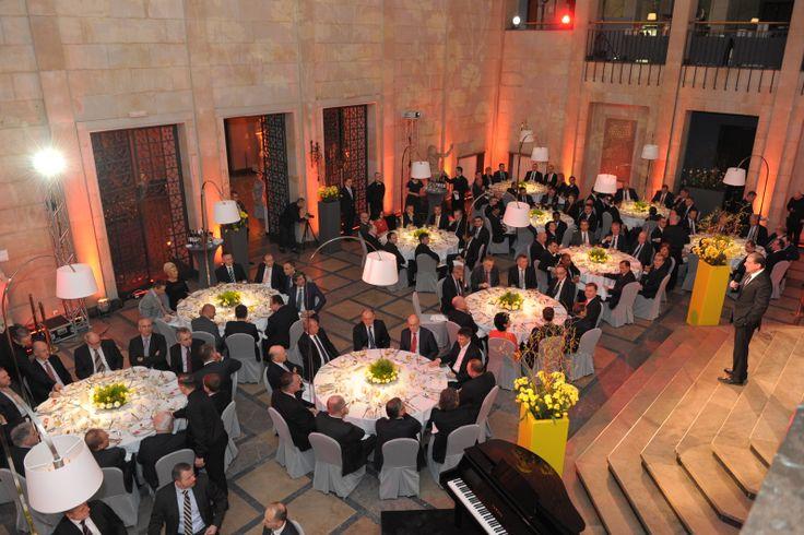 W trakcie dwudniowej wizyty Mark Weinberger spotkał się między innymi z partnerami, klientami i przedstawicielami administracji rządowej. Muzeum Narodowe w Warszawie.