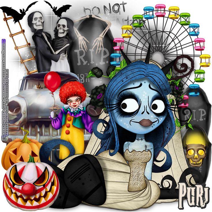 """MI RINCÓN GÓTICO: CT for Kizzed by Kelz, """"Carnival Of Horror"""""""