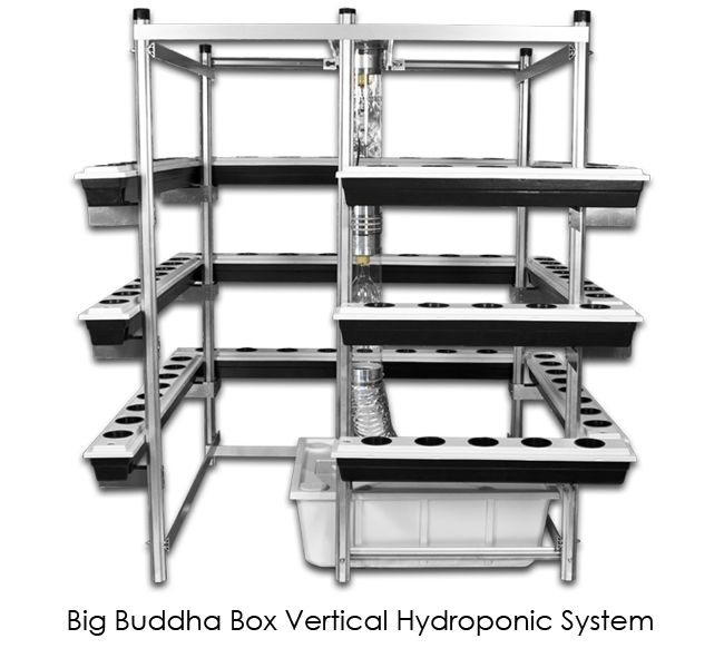 Vertical Hydroponics | Hydroponic Grow System | Best Vertical Grows ($4000 hydroponic sys but could borrow design for 8x8 grnhse aquapnc sys; rrj)