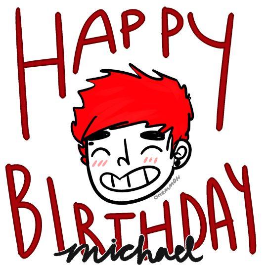 2nd birthday michael!!!!1!