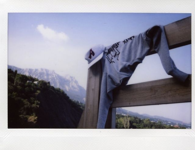 Alina Gutkina, Polaroid, 2012 year
