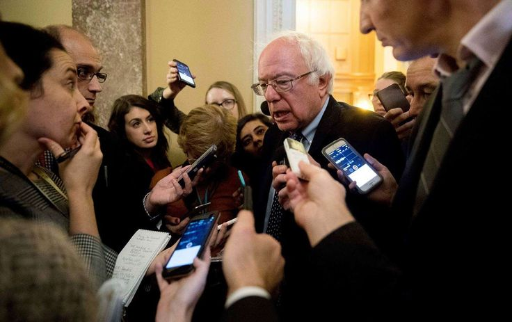 Bernie Sanders Comes Out Fighting Against Trump and Trumpism 'We are not going silently into the night,' says the senator. 'The stakes are too high.' November 17 2016 #Bernie2020