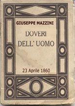 GIUSEPPE MAZZINI - DOVERI DELL'UOMO (opera integrale)