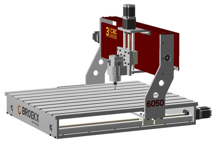 Broekx 3 Axis CNC Router Table Milling Drilling and Engraving Machine DIY Plans | eBay