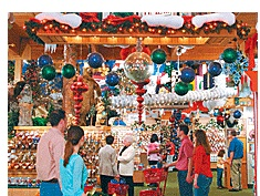 Christmas ornaments, lights, decorations and trees | Bronners, the world's largest Christmas store.  Frankenmuth, Mi