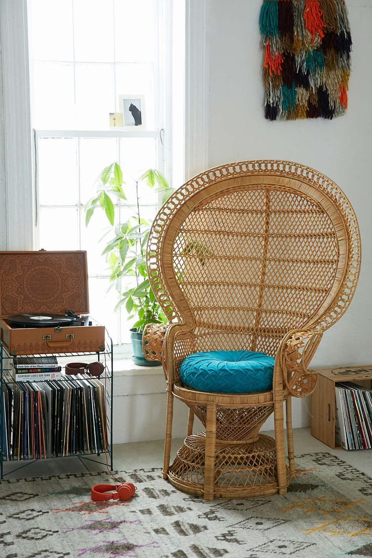 Detendre peacock chair urban outfitters house home for Urban boho style furniture