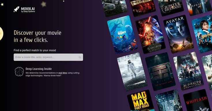 Movix es un nuevo servicio que utiliza deep learning e inteligencia artificial para recomendarte películas en función de tus gustos. - http://j.mp/2p4uOn7