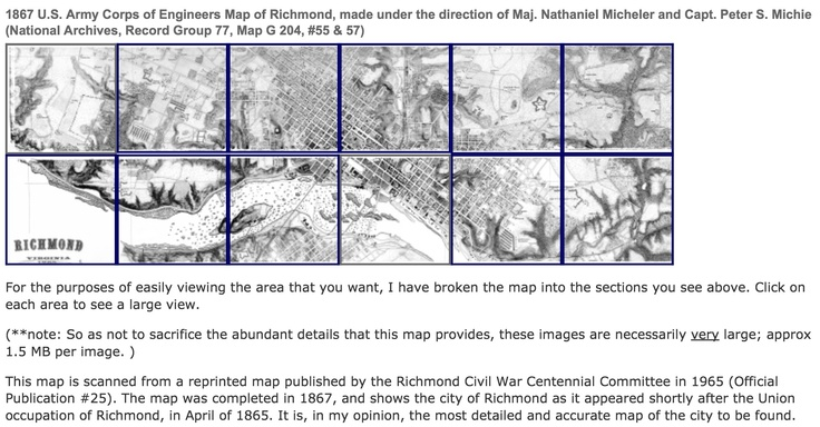 Amazing detail of Richmond in 1867 maps RICHMOND VA HISTORY