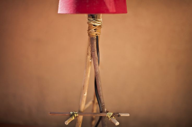 To Build a Fire (Lamp)