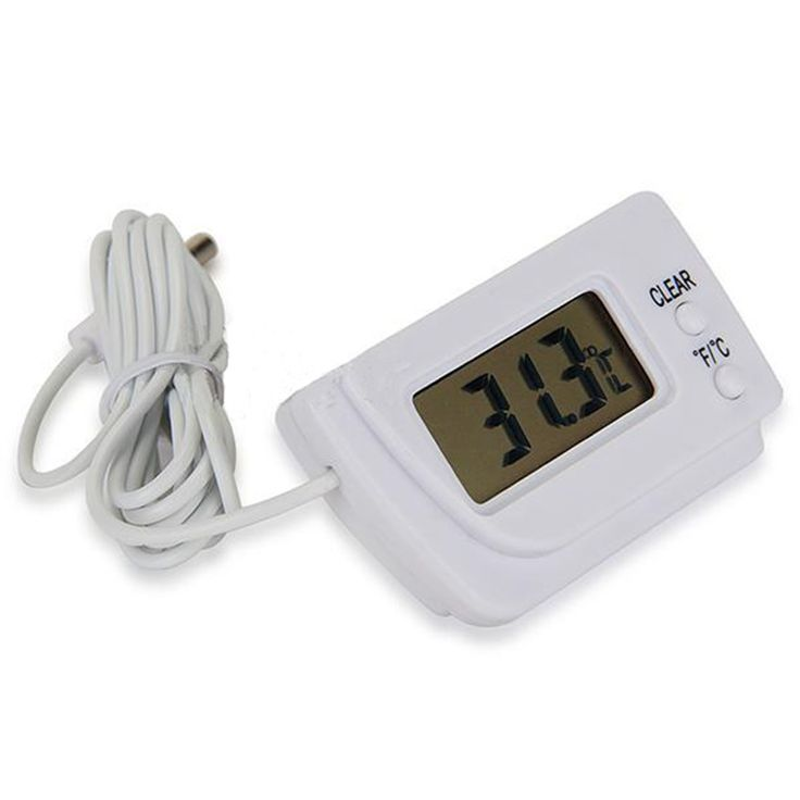 Дешевое 2015 New Weather Station Digital LCD Thermometer Temperature Sensor Fridge Freezer Indoor Outdoor  10 70C Wholesale Freeshipping, Купить Качество Температурные инструменты непосредственно из китайских фирмах-поставщиках: Temperature Meter Gun Point  LCD Display Digital IR  GM320 Non-Contact Laser Infrared -50~330 Degree ThermometerUS $ 20.