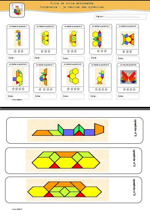 réaliser des symétries avec les attrimaths