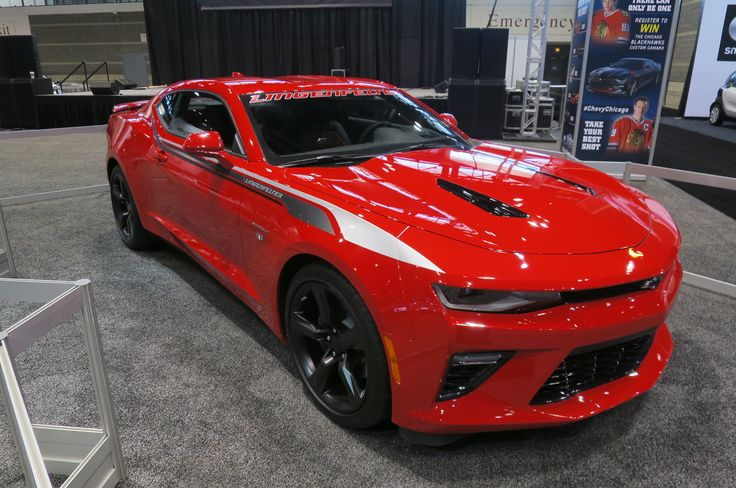 2016 Chevrolet Camaro SS by Lingenfelter front three quarter 02