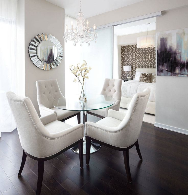 Exceptional Tips For Decorating Small Dining Rooms