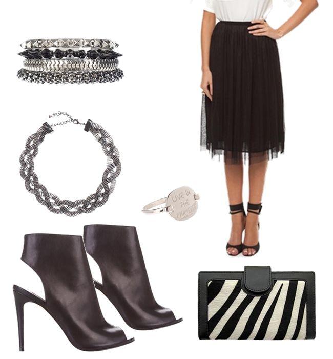 Tutu skirt with a twist