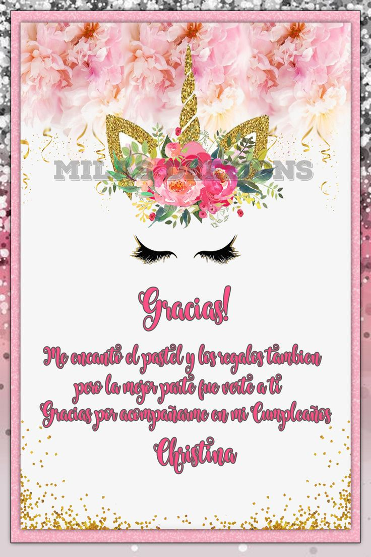 47 Best Unicorn Birthday Party Invitations Images On Pinterest
