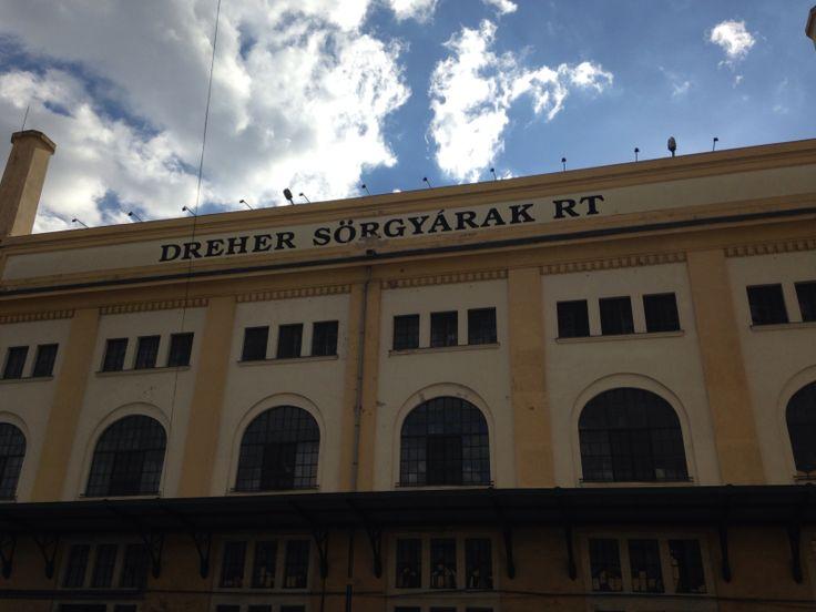 Dreher Breweries at Kőbánya #hungary