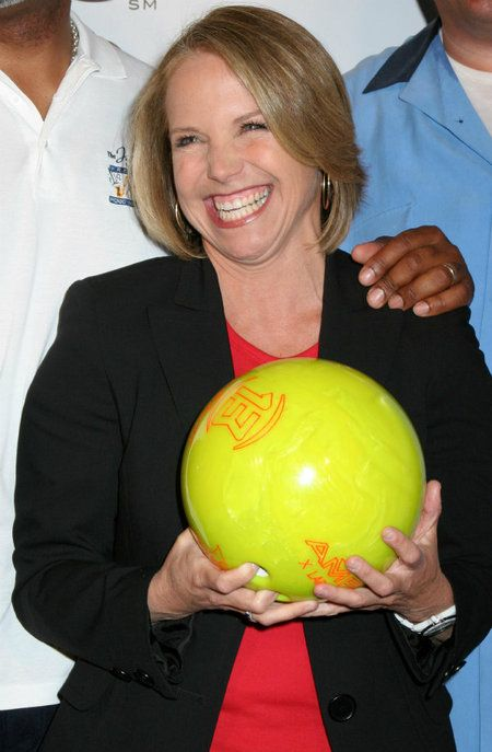 Katie Couric -- Strike Out Colon Cancer fundraiser