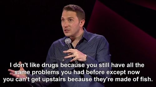 the truth behind drugs. haha