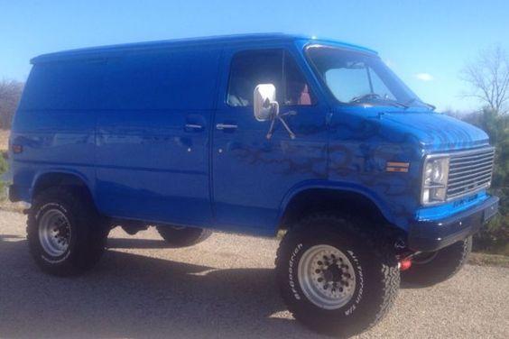 1979 Chevrolet /Pathfinder 4x4 van for sale: photos, technical specifications, description