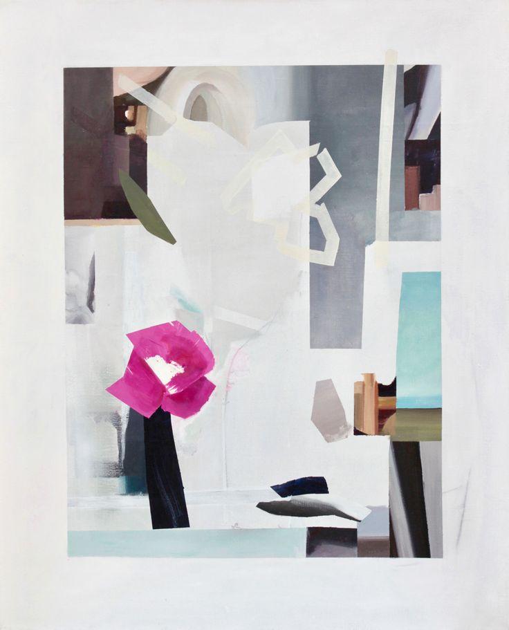 Mari Jäälinoja: Vanitas, 2016. Acrylic on canvas, 100x81cm