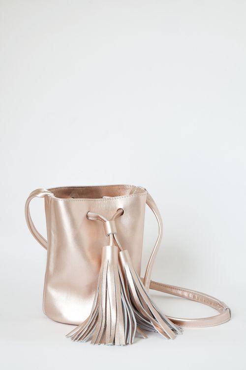 VeryFineSouth Mini Bucket rosegold | Architect's Fashion