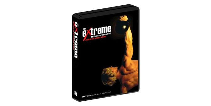 Extreme Kettlebell Cardio Workout DVD - keith weber