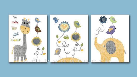 Print for Baby Room Baby Nursery Decor Baby by artbynataera, $60.00