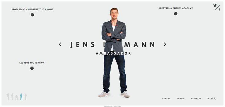 Jens Lehmann - http://www.buzzenperf.fr/jens-lehmann/   #Webdesign