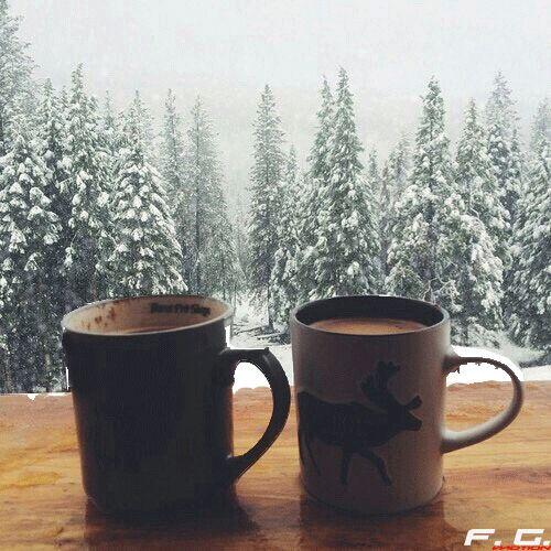 Vor diesem Hintergrund wärmt der Kaffee noch ein bisschen mehr. #WirliebenKaffee