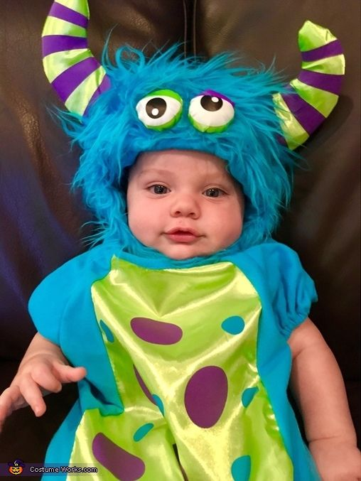 baby monster costume - Monsters Inc Baby Halloween Costumes