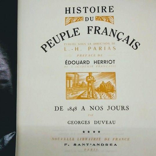 Histoire du peuple francais www label emmaus co