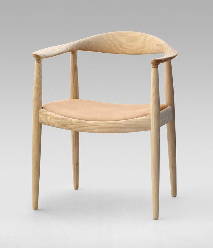 PP Mobler pp501/pp503 Round Chair designed by Hans J. Wegner