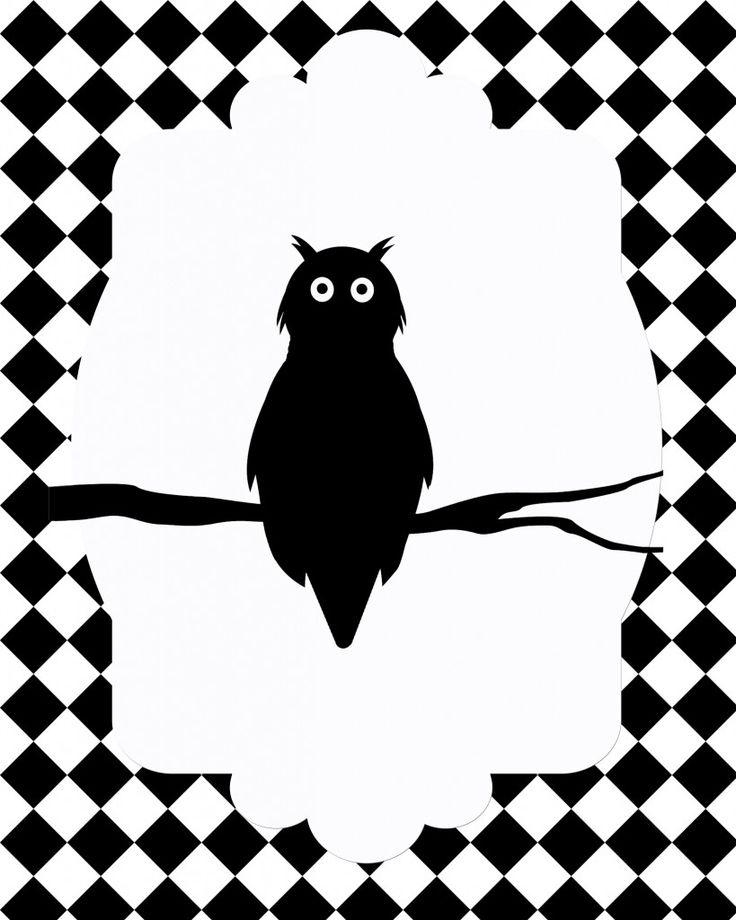455 best halloween silhouettes images on Pinterest | Halloween